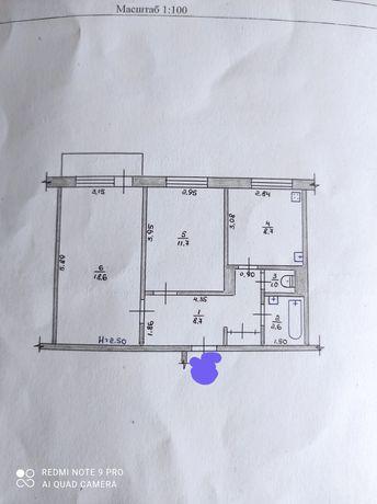Продам двухкомнатную квартиру по Б.Тена