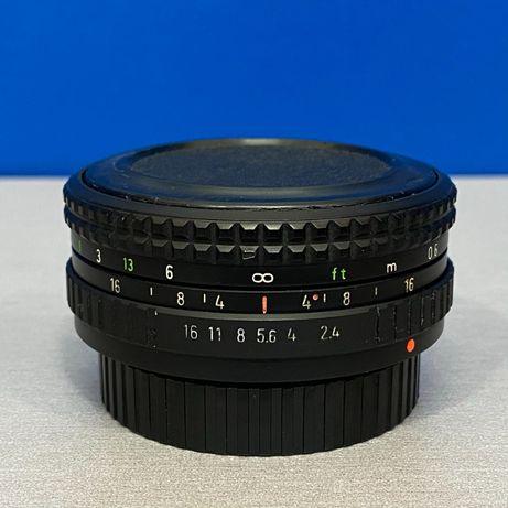 Pentacon Prakticar 50mm f/2.4 MC - PB Mount (Adapt.Fuji/Sony/MFT)