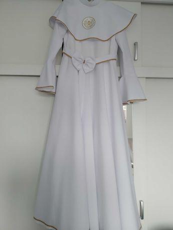 Alba sukienka komunijna dziewczęca, jak nowa, założona na 2 godziny