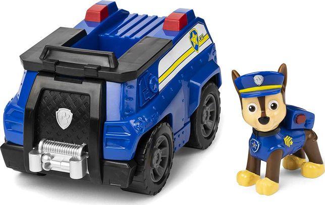 Paw Patrol Чейз на полицейкой машине. Гонщик. Щенячий патруль