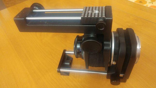 Obiektyw INDUSTAR 50-2 3,5/50 z mieszkiem do makro, z mocowaniem Canon