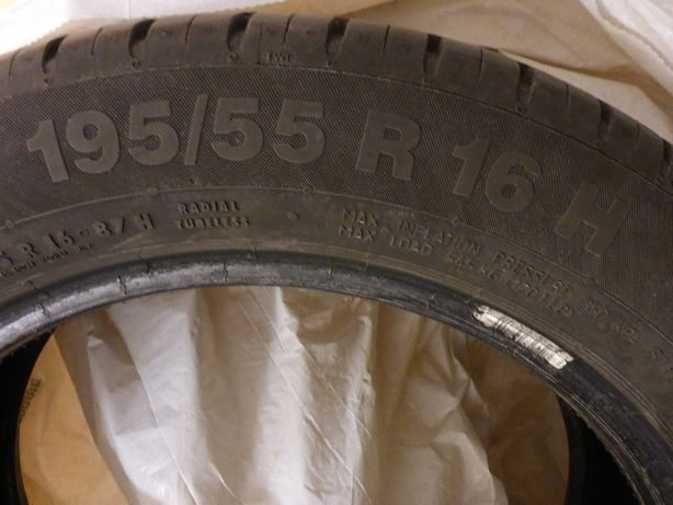 Opony continental eco contact5 195/55 R16