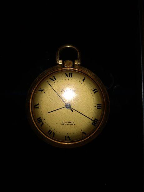Zegarek kieszonkowy pozłacany