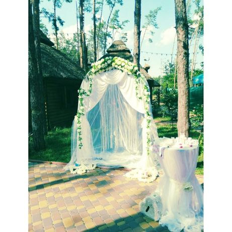 Свадебная арка готовая 980грн с декором
