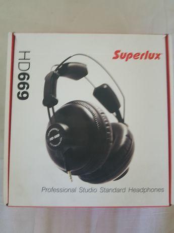 Superlux hd669 hd 669 słuchawki studyjne bdb stan