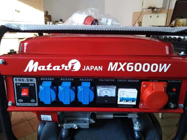 Бензиновий генератор MATARI MX 6000 W Японський