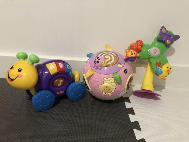 Zestaw zabawek niemowlęcych Vtech, Fisher Price