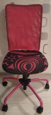 Krzesło obrotowe dla dziewczynki IKEA regulowana wysokość!