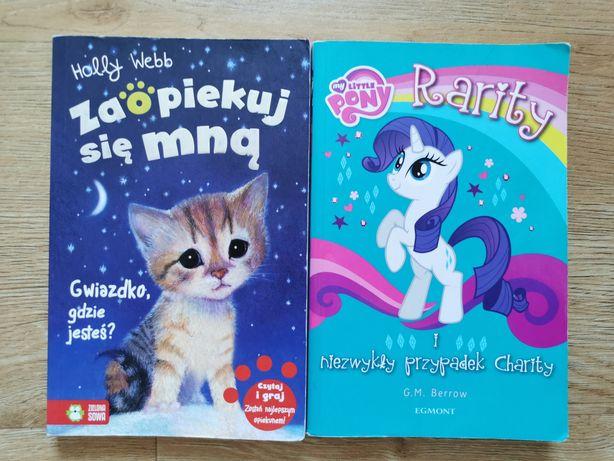 2 Książki Gwiazdko, gdzie jesteś +Rarity i niezwykły przypadek Charity