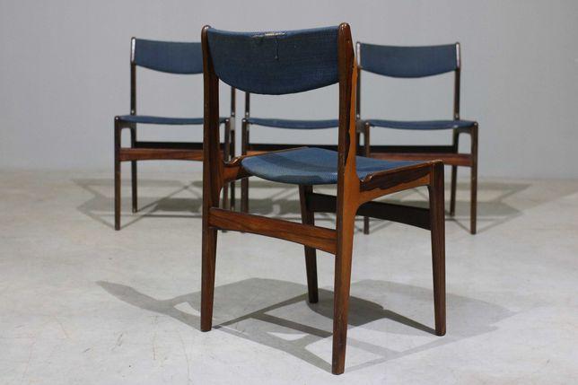 Conjunto de 4 cadeiras nórdicas da década de 1960 | Escandinavo
