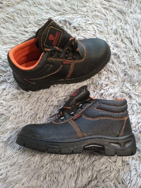 Buty robocze z blachą Armstrong BHP rozmiar 39 długość 25cm Koszalin