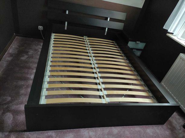 Łóżko ze stelażem + szafka nocna