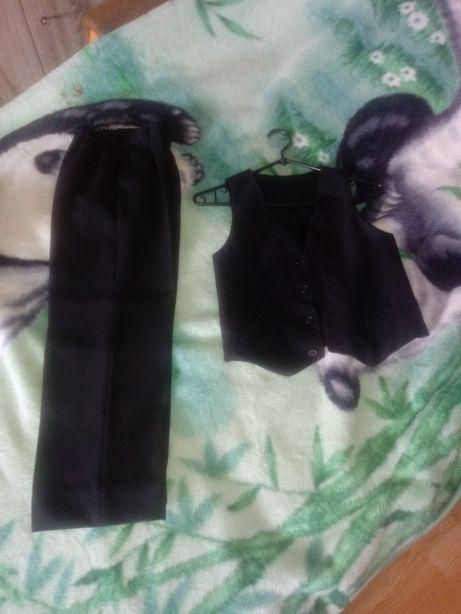 Spodnie i kamizelka