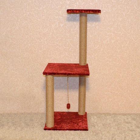 Игровой комплекс-когтеточка высота 110 см,дряпка,когтедралка