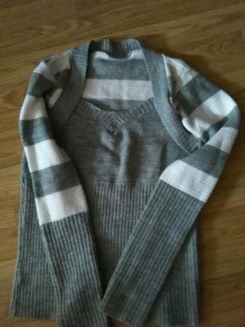 Sweterek z bolerkiem