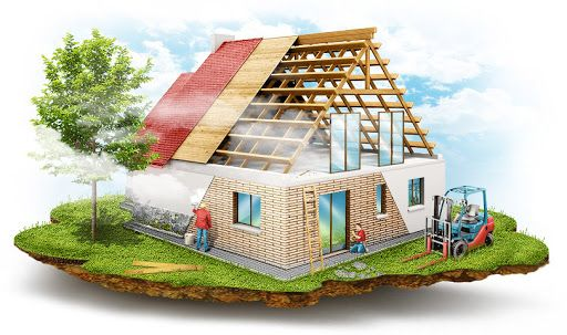Строительство домов под ключ, заливка фундамента, внутренняя отделка