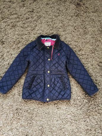 Классная стеганая курточка на 5-6+