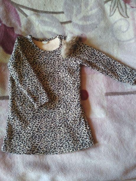 НОВОЕ теплое платье с карманами