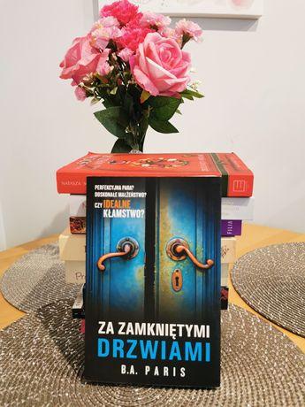 Książka. Za zamkniętymi drzwiami. NOWA