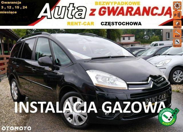 Citroën C4 Grand Picasso 2.0+Gaz*140PS*Automat*OPŁACONY Bezwypadkowy Klimatron Serwis GWARANCJA