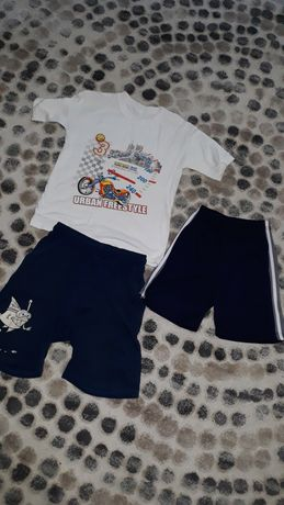 Шорты футболки р 132 140