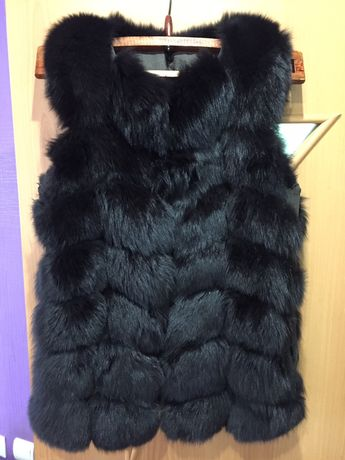 Меховая безрукавка, кожаная куртка