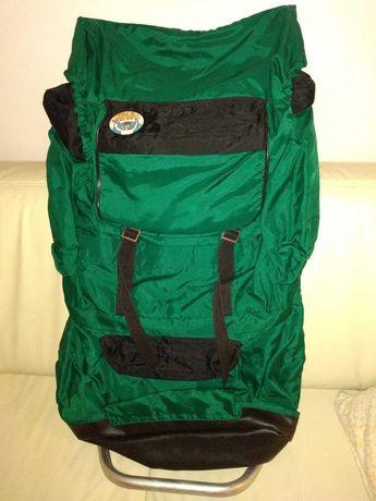 Plecak górski (duży), butelkowa zieleń.
