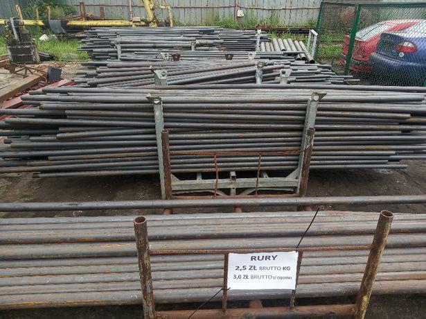 RURY - słupki ogrodzeniowe, ogrodzenie, słupy, stal, rura