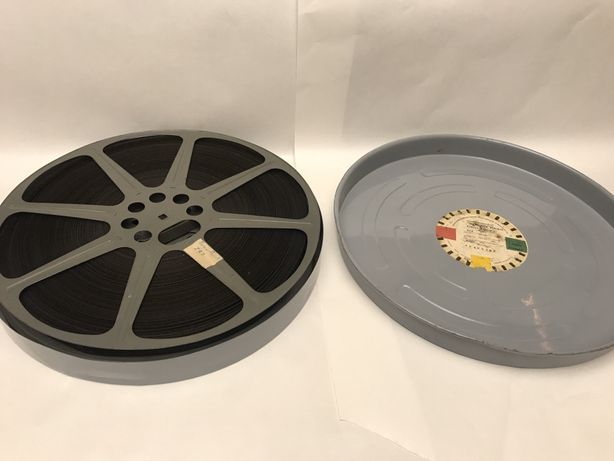 "Film 16mm, taśma filmowa ""Tomcio Paluch"" 1958 kolor USA dubbing PL"