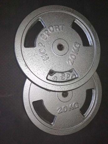 Obciążenie żeliwne 2x20kg 4x10kg