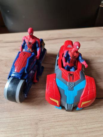 Spider-Man Spiderman Hasbro 2 pojazdy na napęd i 2 figurki