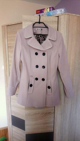 Płaszcz zimowy jasny fiolet, lilaróż, rozmiar 40