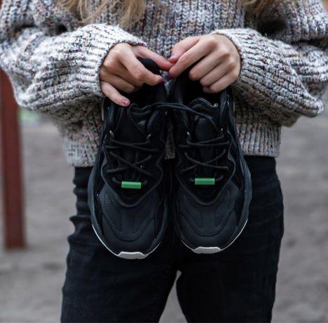 Женские Кроссовки Adidas Ozweego Black 36-45 Наложенный Платёж
