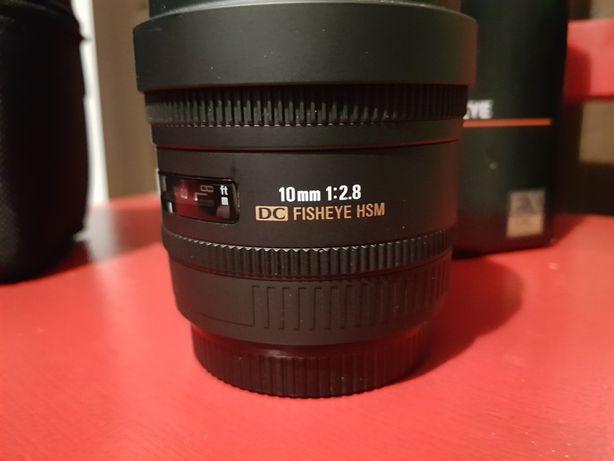 Sigma 10mm f 2.8 Canon idealna jak nowa