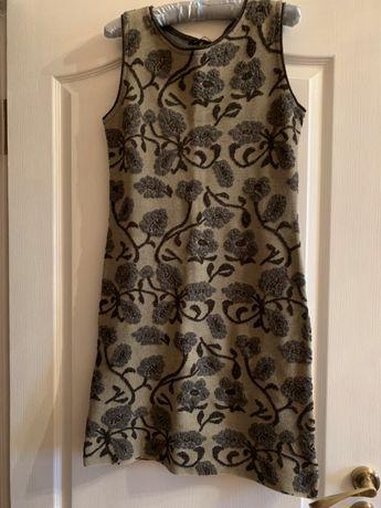 Платье-сарафан тёплый