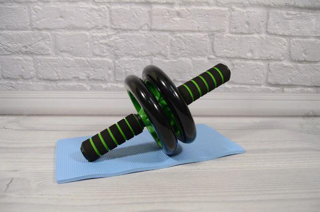Домашний тренажёр Фитнес колесо для пресса Тренажер-ролик для мышц