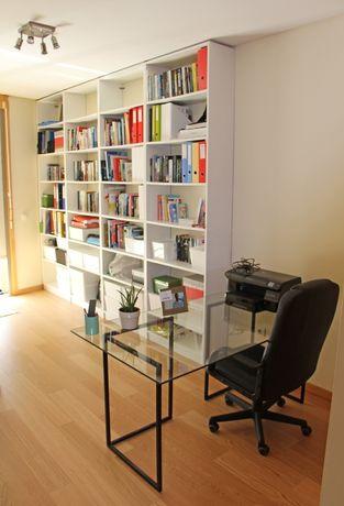 4 Estantes de Livros Brancas (Não IKEA)