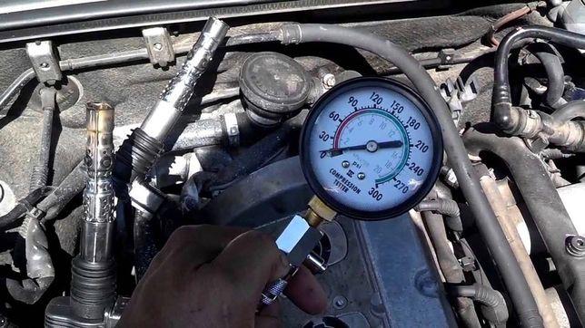 Замір(перевірка) компресії в бензинових двигунах