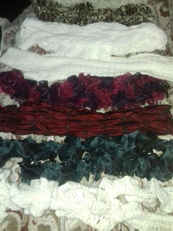 Продам женские  шарфы,шапки 54-56