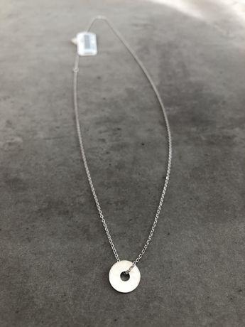 Celebrytka naszyjnik kolko srebro 925 szybka wysylka