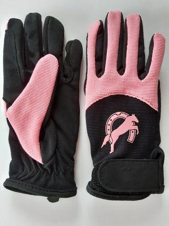 Rękawiczki dziecięce do jazdy konnej NOWE