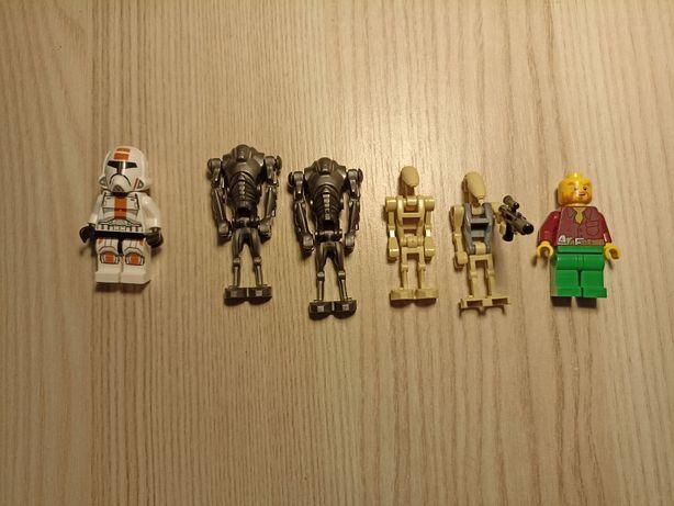 Figurki ludziki LEGO star wars Droidy i klon 75001, 75037