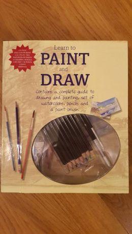 Новий набір для малювання та живопису (з книгою)