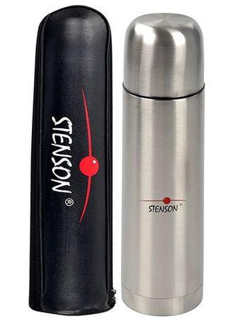 Термос Stenson MT-0180 С Чехлом 0.75л Серебристый