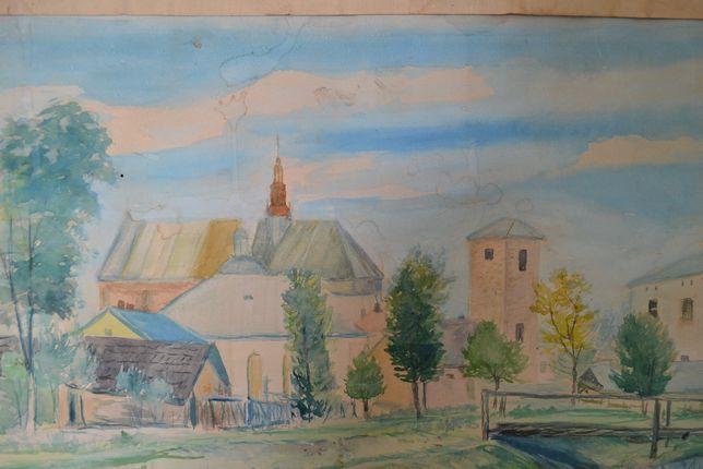obraz kościół