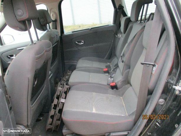 Renault Grand Scenic III 1.5Dci Interior bancos forras plásticos fole forro pele tubo