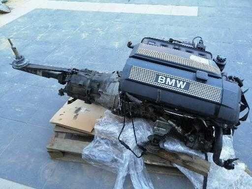 Kompletny silnik skrzynia BMW M52 2.5 2x vanos