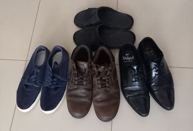Buty w roz 42 trzewiki, pantofle, trampki, klapki