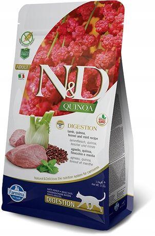 ND Cat Quinoa Digestion Lamb 5kg -6957