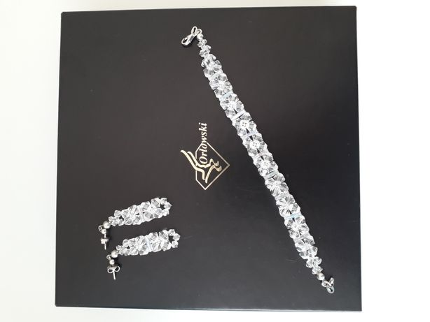 Biżuteria ślubna, kryształki Swarovskiego